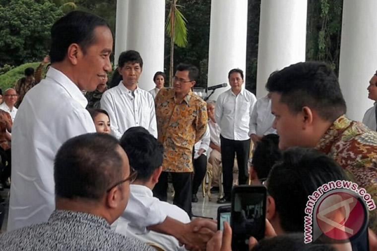 Presiden Jokowi Memotivasi Pebisnis Kopi